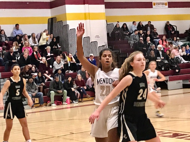 Mendon's Lexi Green joins the 1,000-point club