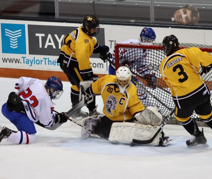 Fairport prevails over McQuaid in goaltending showdown