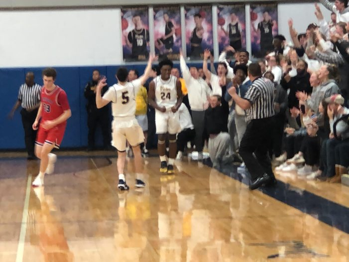 Victor pulls away in overtime to beat Fairport, advance to sectional semis