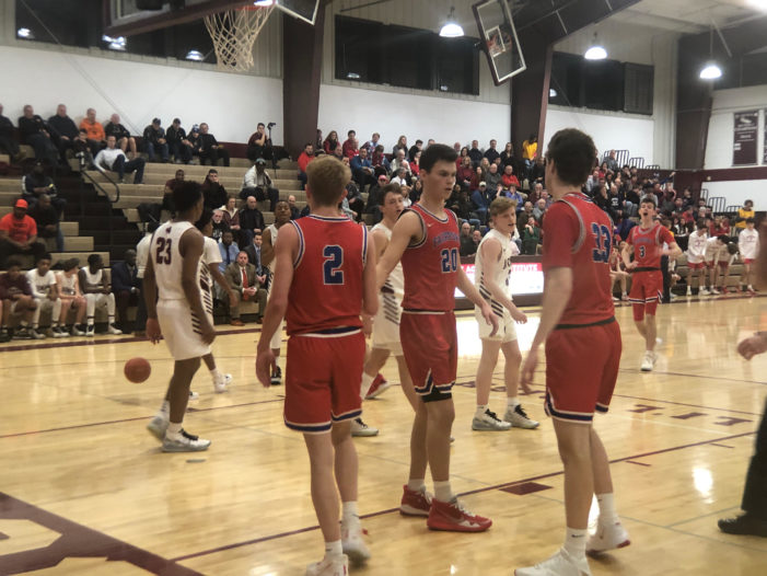 'Road kill': Ryan Lucey's 26 lead Fairport past Aquinas, 54-48