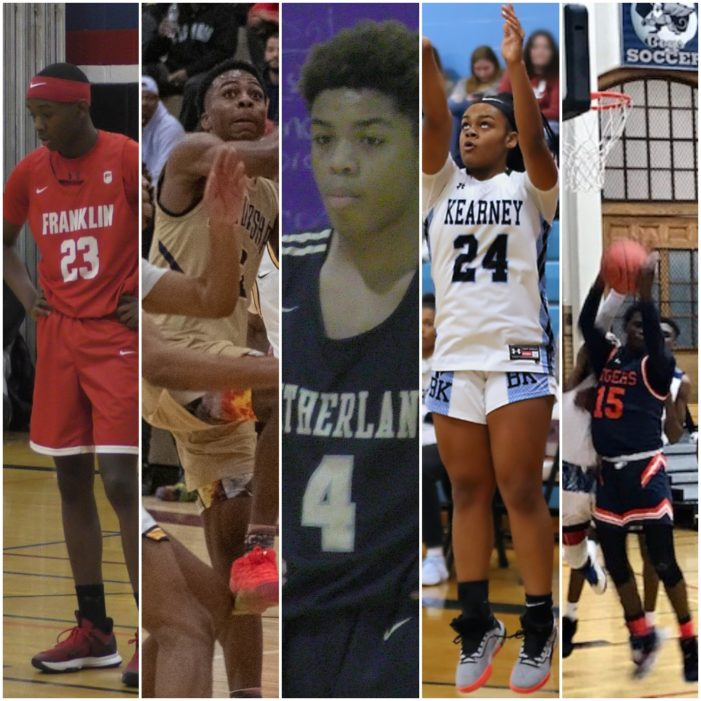 Tahjir King, Shamir McCullough and the Starting Five