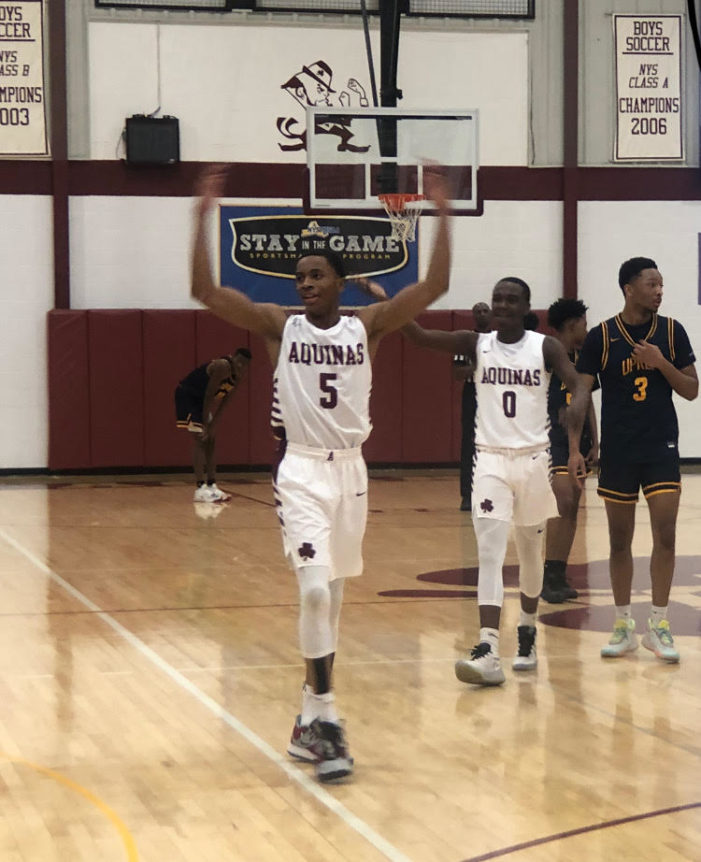 Wesley Henderson leads key returners for Aquinas