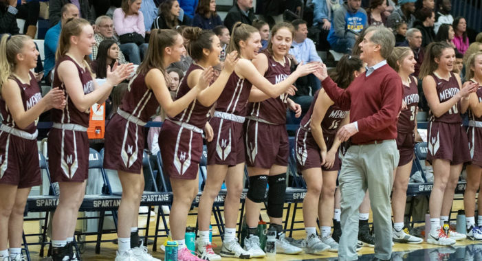Mendon girls taking season's end in stride