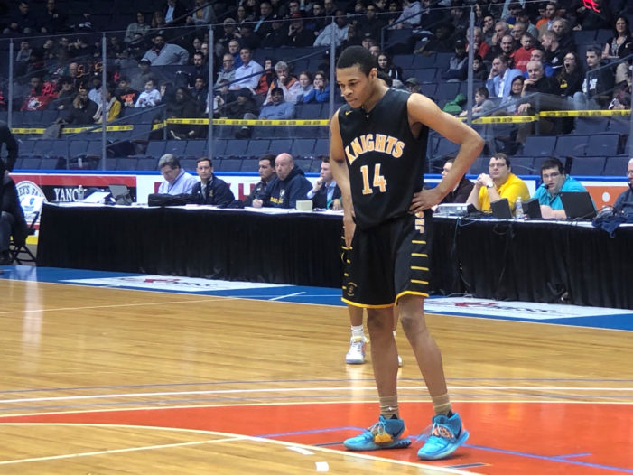 Jermaine Taggart's 26 points, late foul shots send McQuaid to sectional final