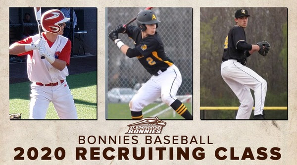 Bonnies add three to baseball recruiting class