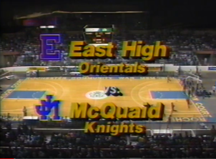 A look back at McQuaid vs. East in the 1991 Section V Class A final