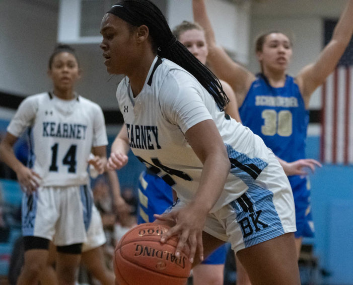 Bishop Kearney's Norris provided double-double production