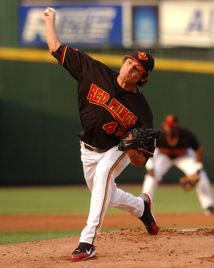 This Day in Red Wings History: Garza shuts out Knights