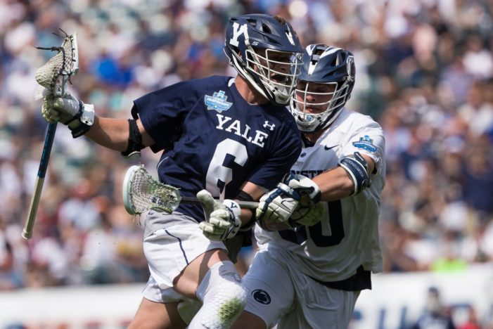 TD Ierlan selected No. 1 overall in Major League Lacrosse Draft