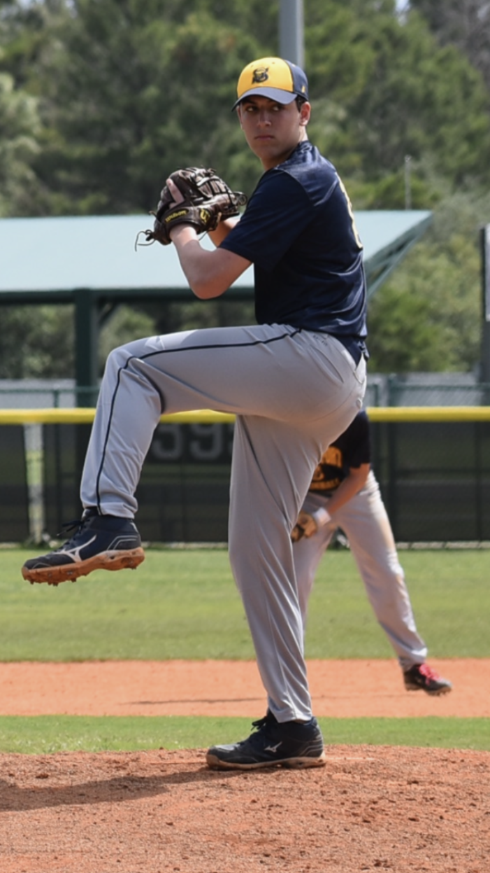 Spencerport's Gino Pellett produced on the mound and at the plate