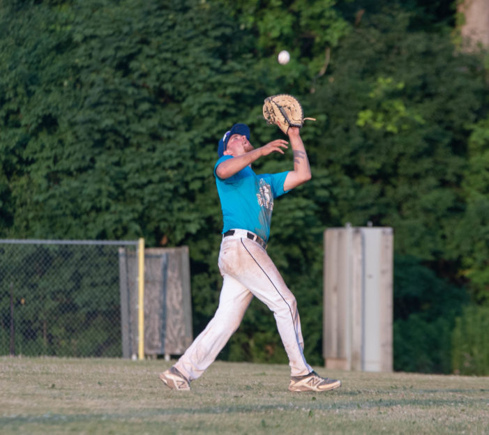 ICBL Opening Day: Bigham propels Blue Jays; DP Orange uses big first and holds on for win