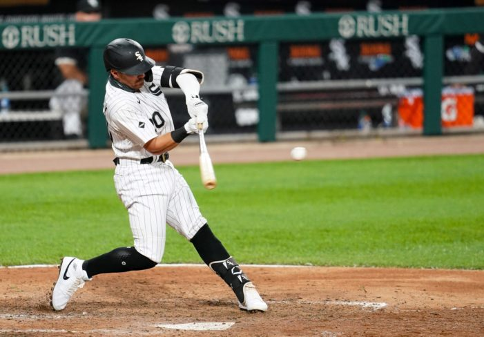 Mendick goes deep in White Sox win
