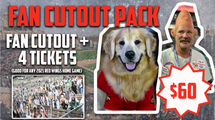 """""""Grab a Seat"""" at Frontier Field with Fan Cutout Pack"""