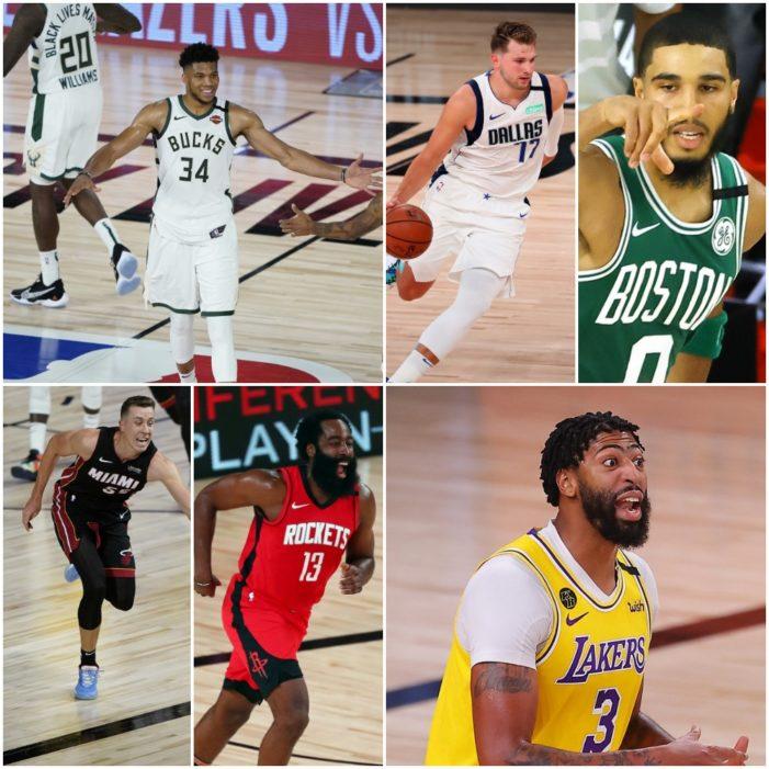 Heat Check: Bucks, Lakers bounce back; Heat, Rockets take 2-0 series leads