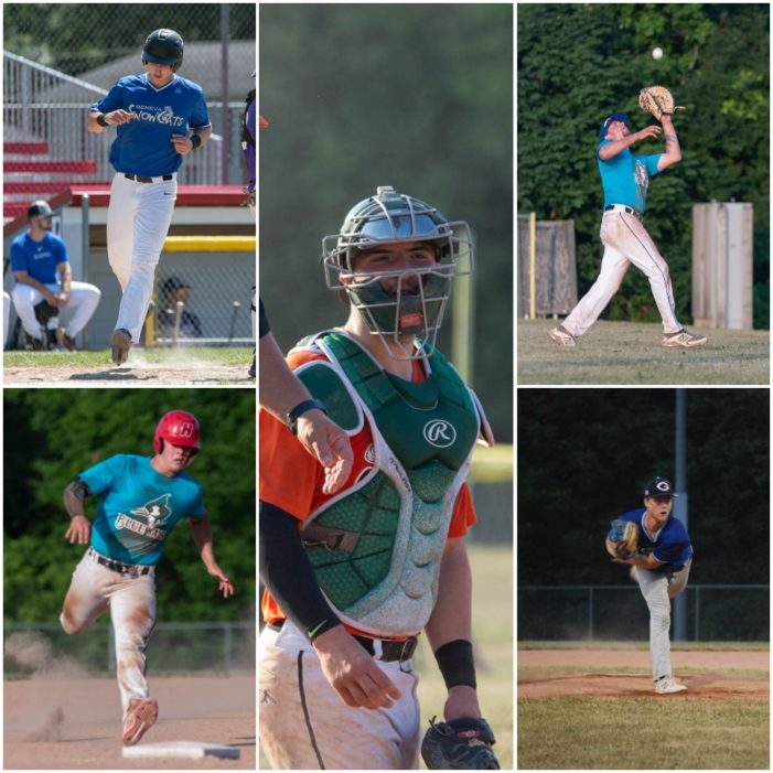 Ferranti named ICBL Player of the Year; Gartland earns top pitcher while Bigham, Holmes and Trotta garner honors