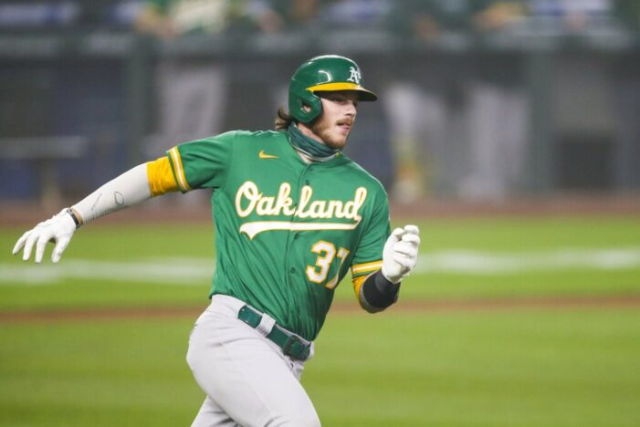 A's rookie, Heim, has Rochester connections