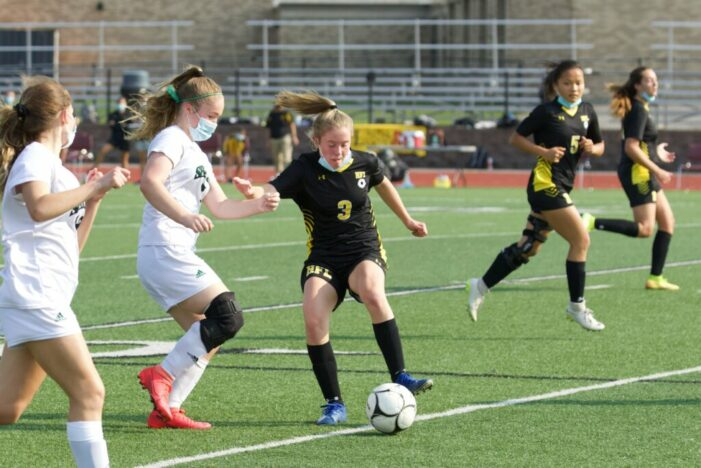 HFL girls use quick start to get opening win