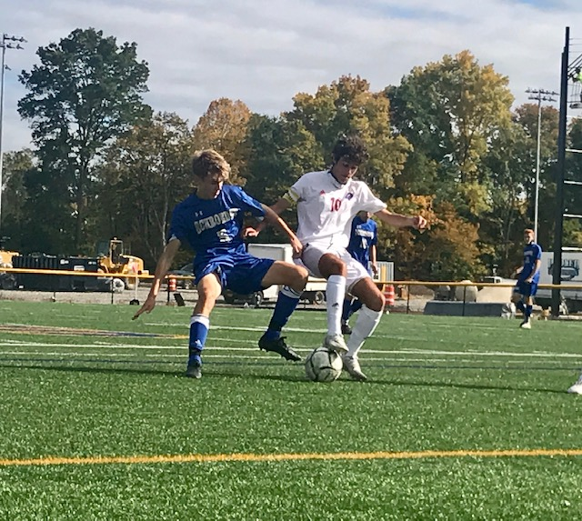 Brunken and Rouhana guide Fairport to second straight win