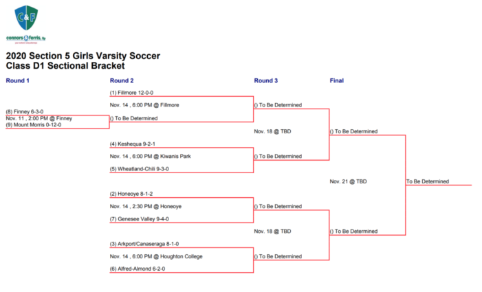 Section V Playoff Preview: Girls' Soccer Class D1