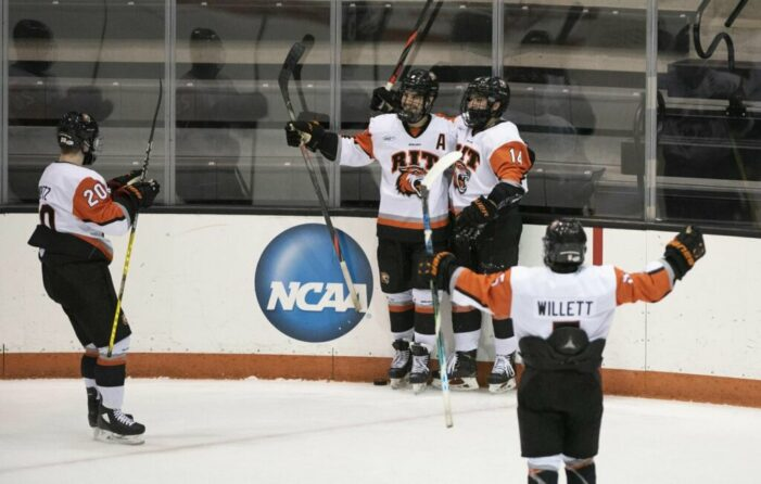Calverley leads; RIT rallies past No. 9 Clarkson