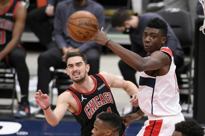 Thomas Bryant's hot start can't help Wizards match Bulls' offense in fourth straight defeat