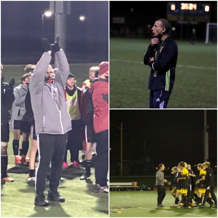 Section V Boys' Soccer announces Coach of the Year recipients