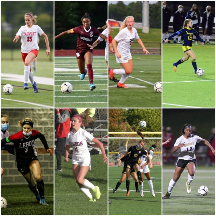 Morelli, Donzo and Hicks among Section V performers named to Girls' Soccer All-State teams