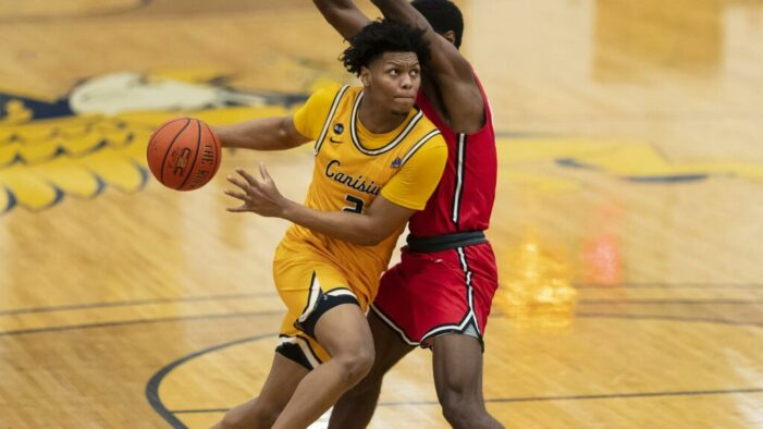 Canisius battles to gritty 63-60 victory, sweeps Saint Peter's