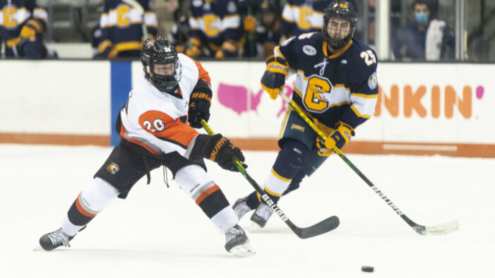 RIT strikes first, holds off Canisius