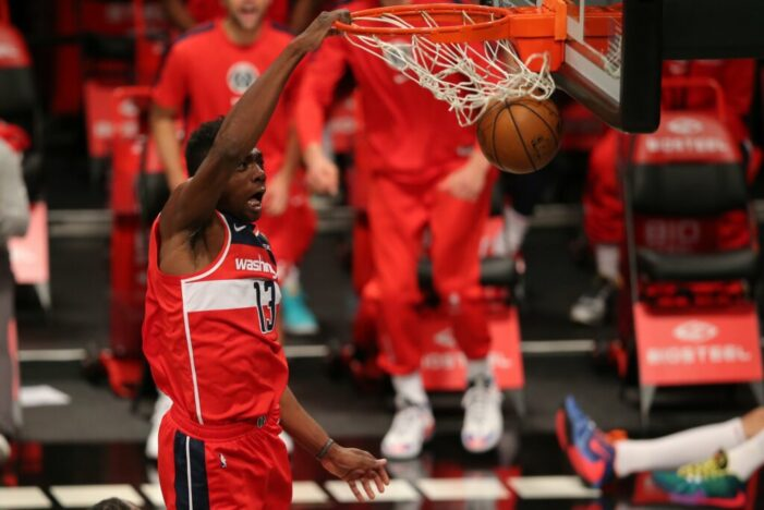Thomas Bryant's game-winner and first double-double of the season leads Wizards to second straight win