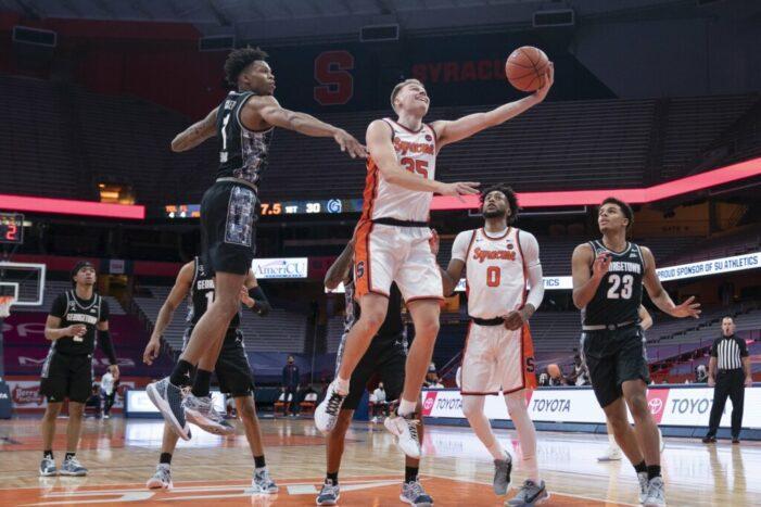 Rivalry renewed: Syracuse tops Georgetown, 74-69