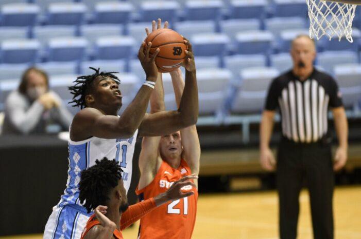 Syracuse drops back-and-forth battle at North Carolina