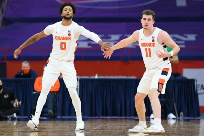 Clemson dominates Syracuse after lopsided first half