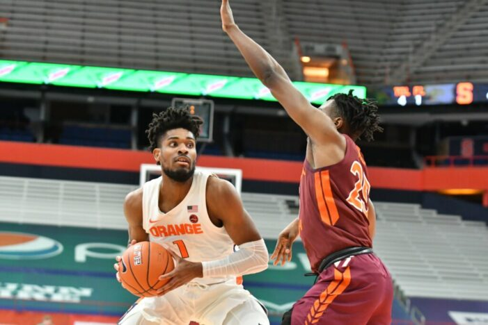 Syracuse shuts down No. 16 Virginia Tech, moves to 9-4