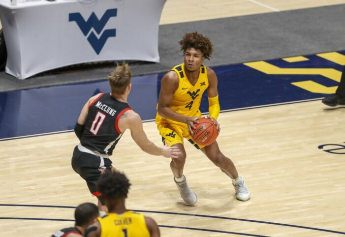 Top 25 Wrap: McBride's game-winner lifts Mountainers over Texas Tech; Virginia rolls Syracuse to stay perfect in ACC play