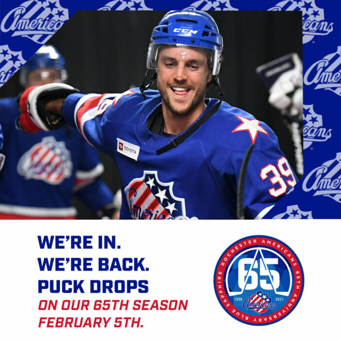 Amerks to open season on February 5th