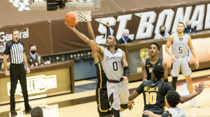 Furious second half comeback powers Bonnies, who keep Atlantic 10's top spot