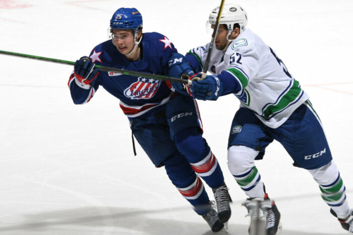 Quinn shows off skills as Amerks defeat Utica