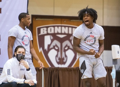 St. Bonaventure clinches first men's Atlantic 10 regular season championship, No. 1 seed in A-10 Tournament