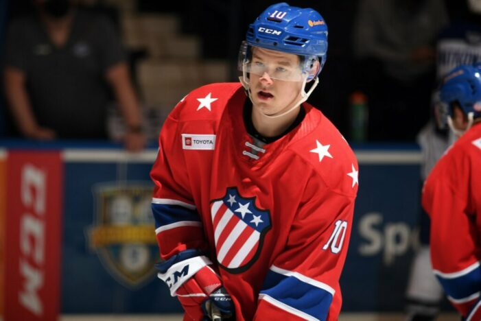 Biro shows off skills though Amerks fall in overtime