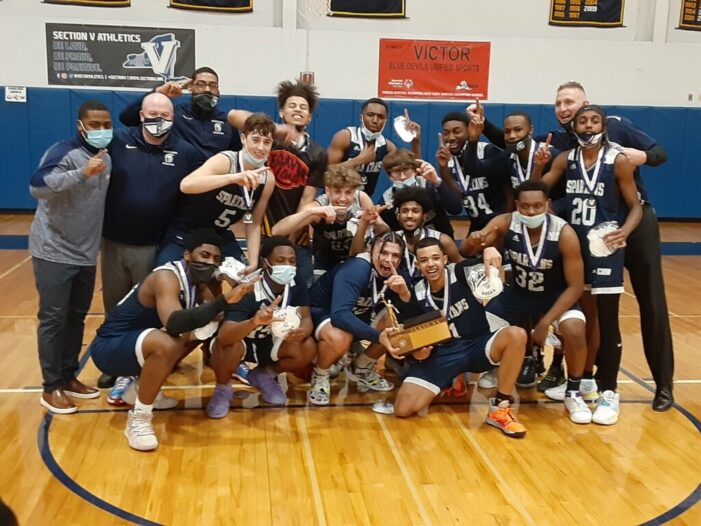 'Blue Collar' Spartans Outlast Victor for Class AA Championship
