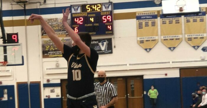 Victor claims No. 1 seed, home-court advantage with win at Schroeder