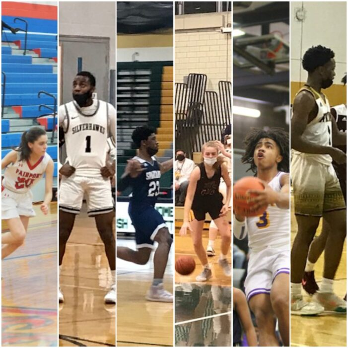 Ke'Vion Mitchell, Bella Pucci and the Starting Five