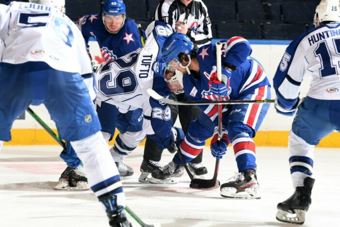 Franco continues to show progress but Amerks fall in OT