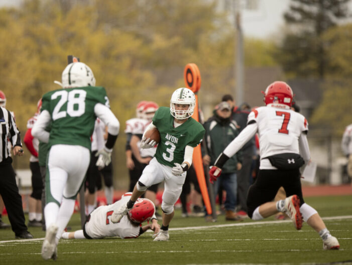 The Men's Room Sunday Football Wrap: Victor advances behind strong running game; Alexander outlasts Oakfield-Alabama/Elba in low-scoring duel