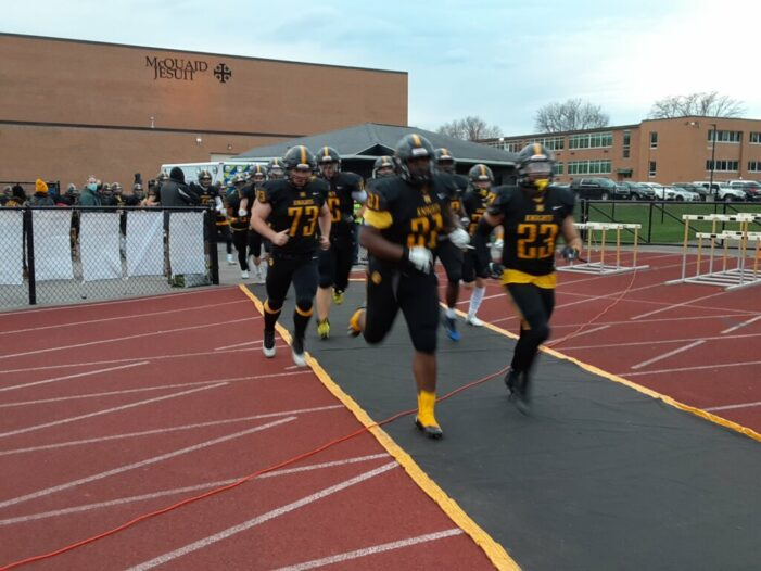 McQuaid goes 6-0 in the regular season in defense of Class AA title