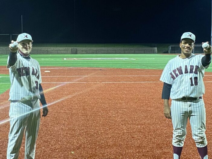 Scotti and Teabout combine for no hitter; Newark takes season opener