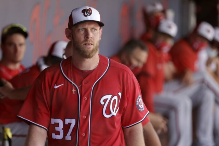 Strasburg finishes strong in Red Wings rehab assignment