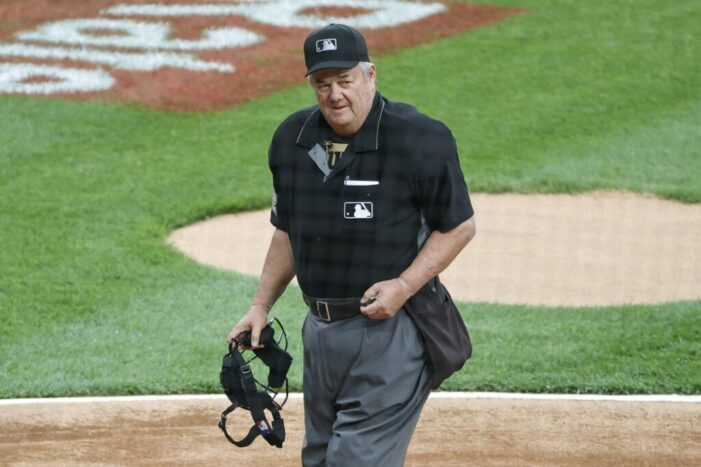 In breaking MLB umpiring record, Joe West surpassed a Rochester native