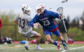 Fairport outlasts Pittsford in boys lacrosse rivalry game